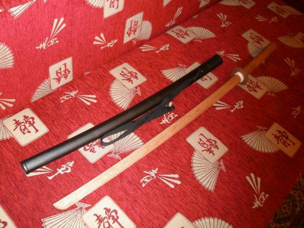 Владение мечом самурайским мечом